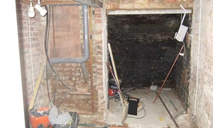 Basement conversion work